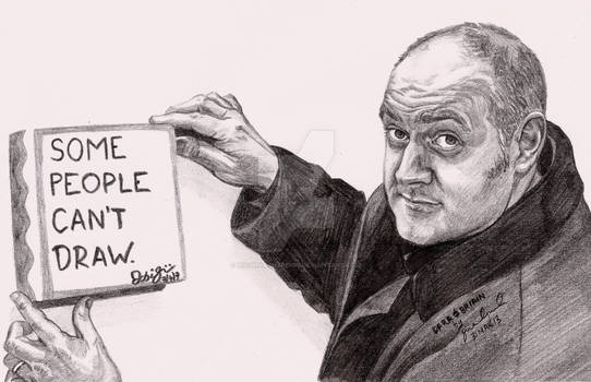 Dara O Briain Some People Can't Draw