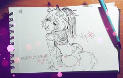 Daily Sketch #1 - Aino