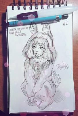 Daily Sketch #2 - Bhun