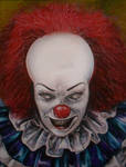 IT PENNYWISE THE CLOWN TIM CURRY A1