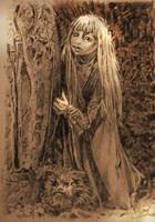 THE DARK CRYSTAL, KIRA WITH FIZZGIG   A2 by Legrande62