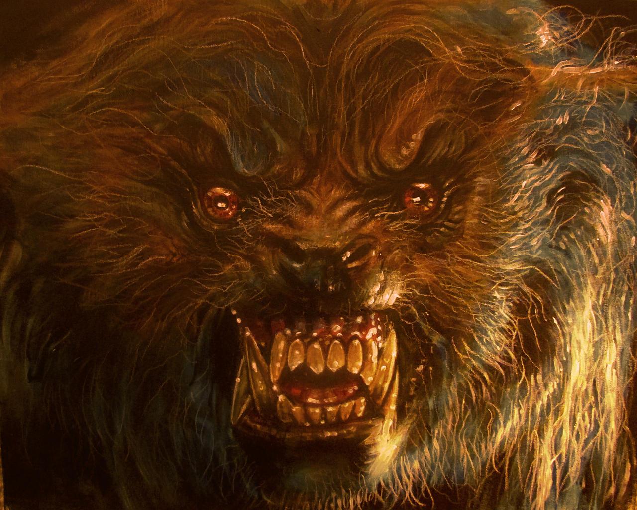 An American Werewolf In London Wolf V5b By Legrande62 On Deviantart