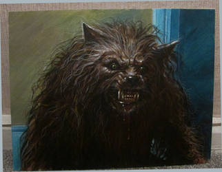 BAD MOON MOVIE WEREWOLF A2 by Legrande62