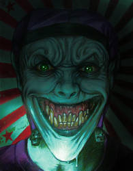 DEMON JOKER  A3 by Legrande62