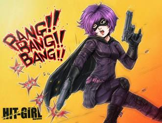 HIT-GIRL by baratsu