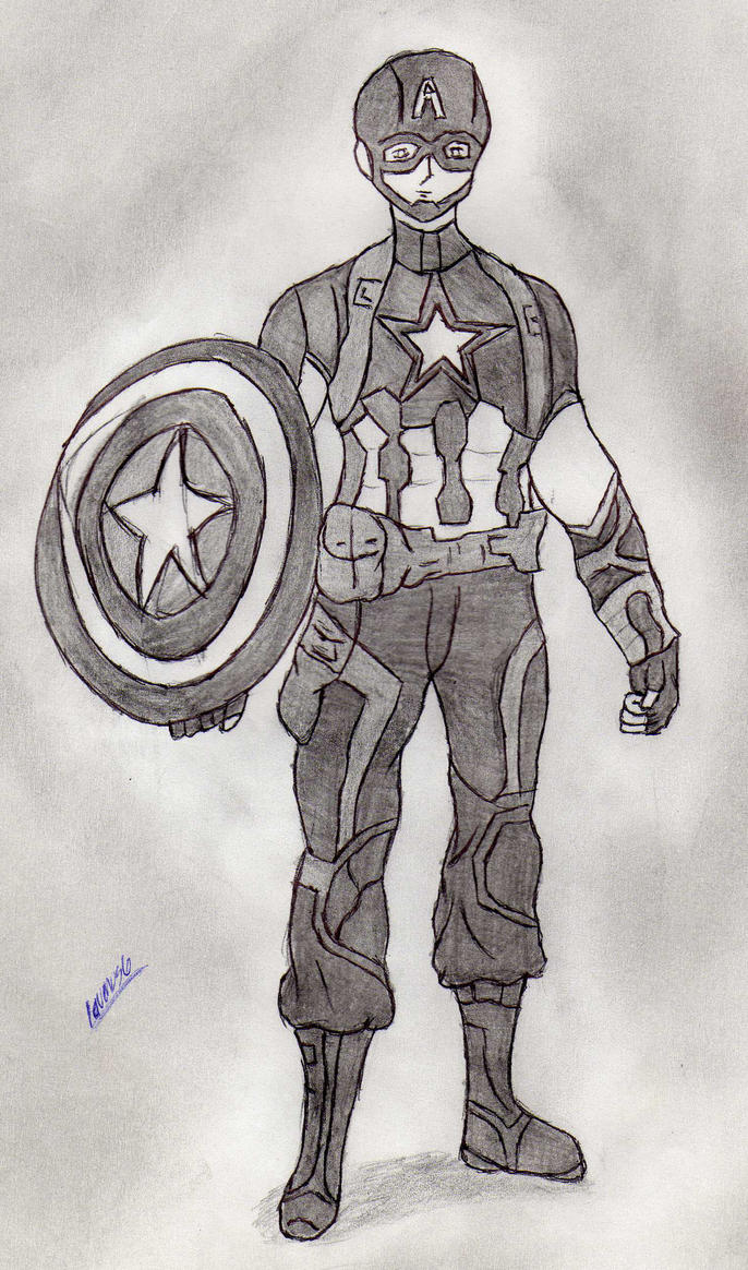 Captain America by laven89