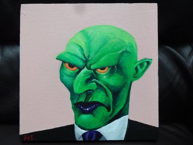 Business goblin by HaybailScott