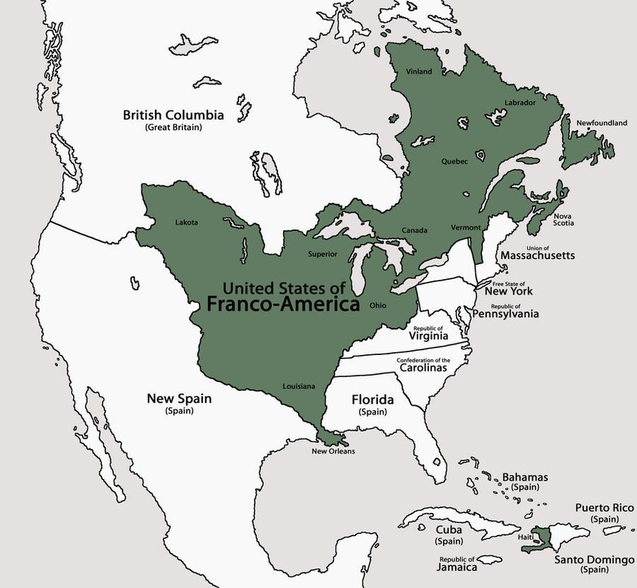 United States of Franco-America by DaFreak47