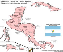 Provincias Unidas de Centro America by LaTexiana