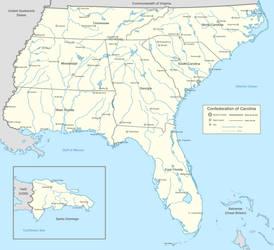 Confederation of Carolina by LaTexiana