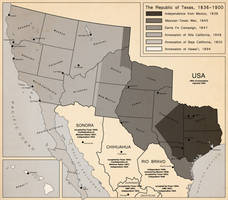 Territorial Evolution of Texas by LaTexiana