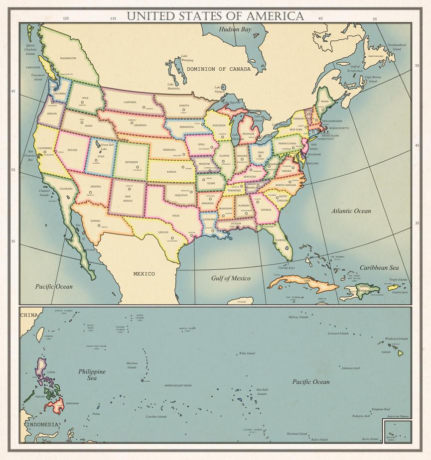 UNITED STATES OF AMERICA by DaFreak47