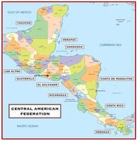 Central American Federation (iPad Idea #18) by LaTexiana