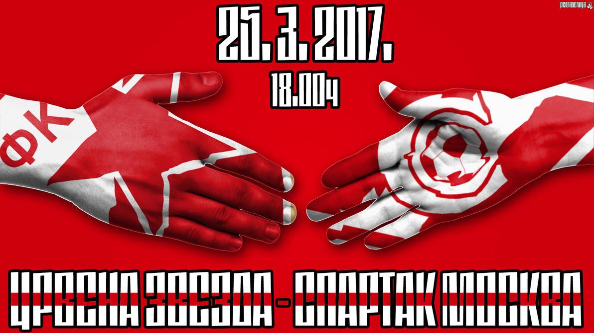 Crvena Zvezda - Spartak Moskva! by remadelija