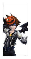 Halloweentown Sora :1 of 4: by Ryasha