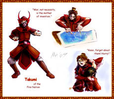 Avatar OC: Takumi by uvnote