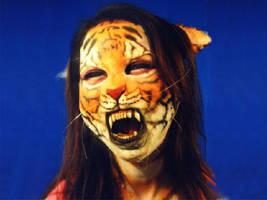 Tiger mask girl