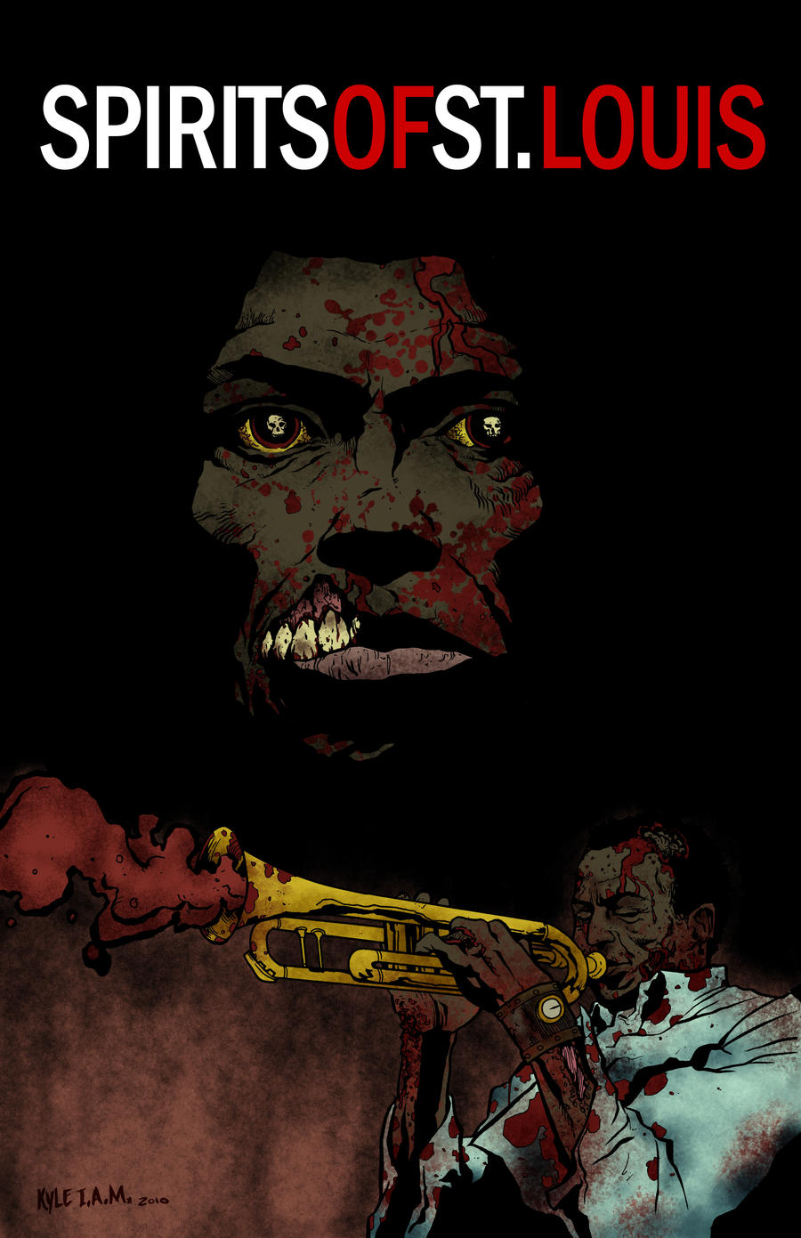 Zombie Miles Davis by KyleIAM