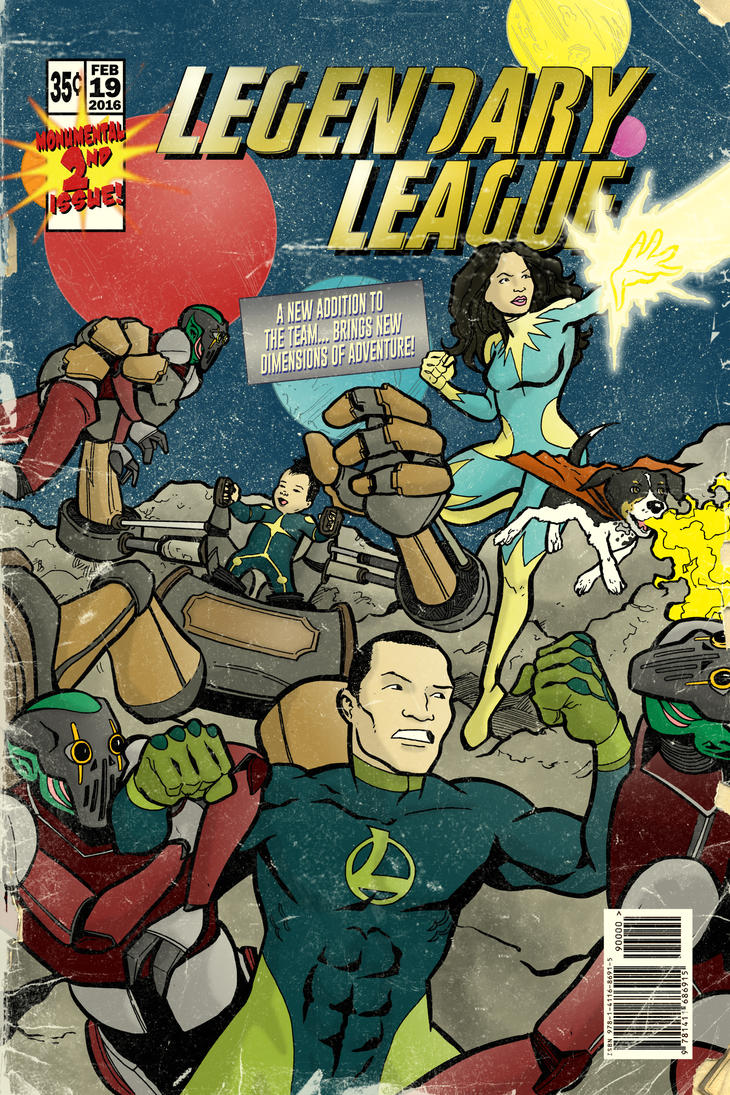 Legendary League - issue 2 by KyleIAM