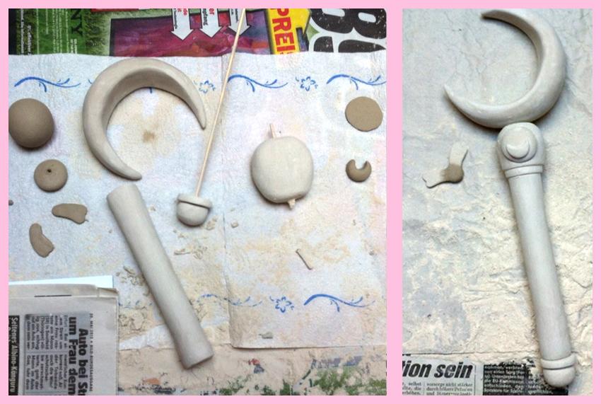 Crescent Moon Stick Sailor Moon Step #1 by Fynn-Linett