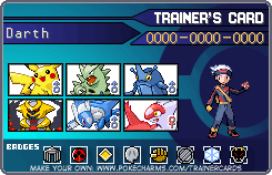 My Trainer Card by ChibiMegamanX
