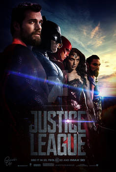Justice League - Poster United
