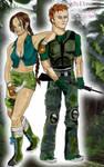 hwoarang julia combat gear by argeiphontes