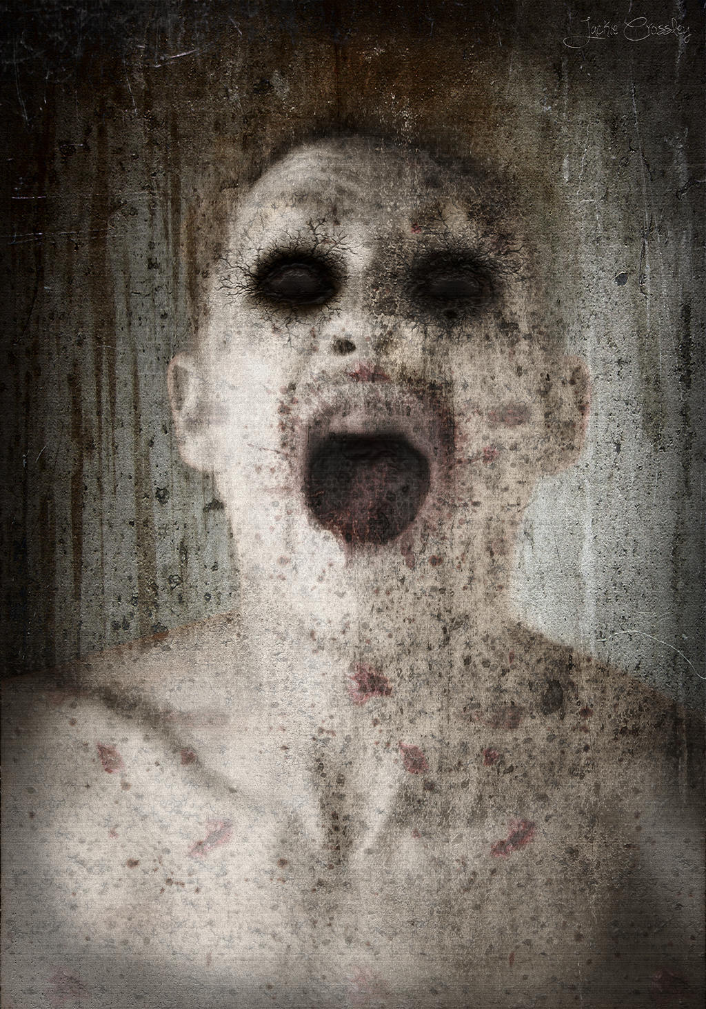 Zombie 0010 by JackieCrossley