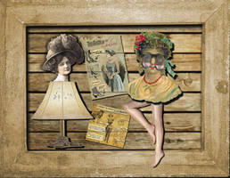 The Victorian Secret Party by JackieCrossley