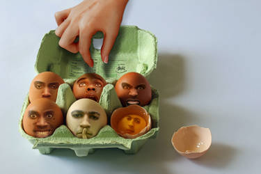 I am the Egg-Man by JackieCrossley