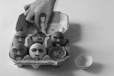 They are the Egg-Men by JackieCrossley