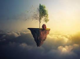 Half Tree by JackieCrossley