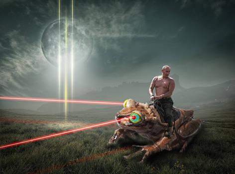 Putin Riding the Frog of Death