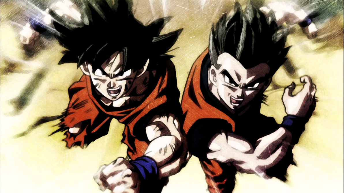 dbs lacco tower ending goku and gohan hd wallpaperygoofficial on