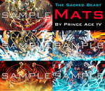 The Sacred Beast Mats by Prince Ace IV!