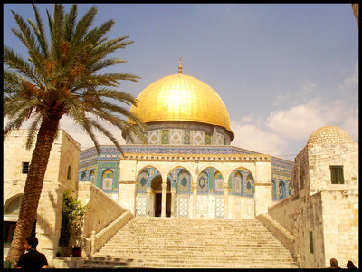Jerusalem,The Dome of the Rock by Palestine-Club