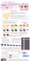 Pixel eye tutorial + Blinking