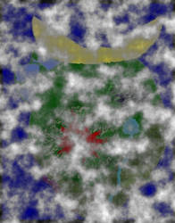 Cloudy Island by Shinderian