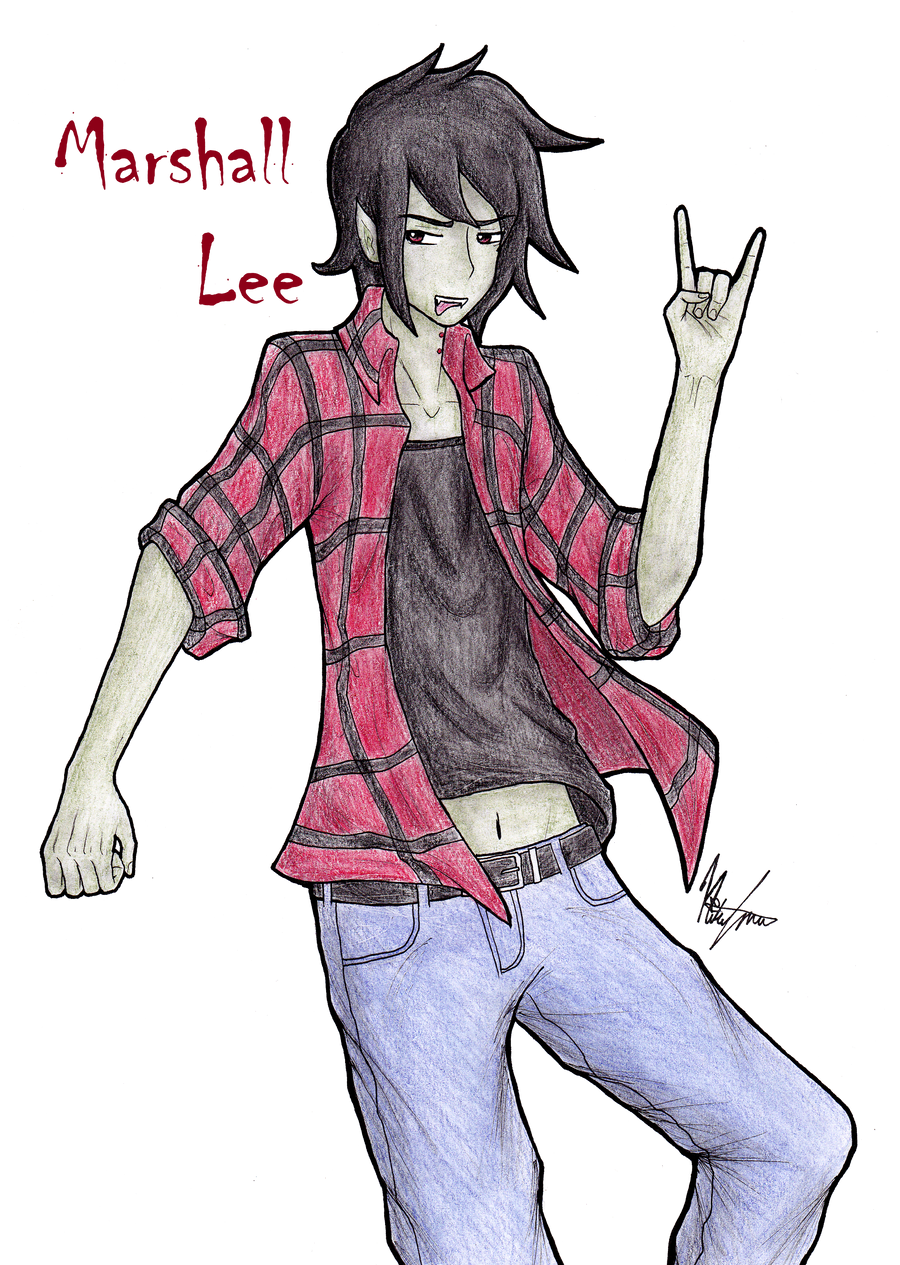 Marshall Lee by muffinmonkey72
