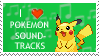 Pokemon Soundtracks Stamp by lila79