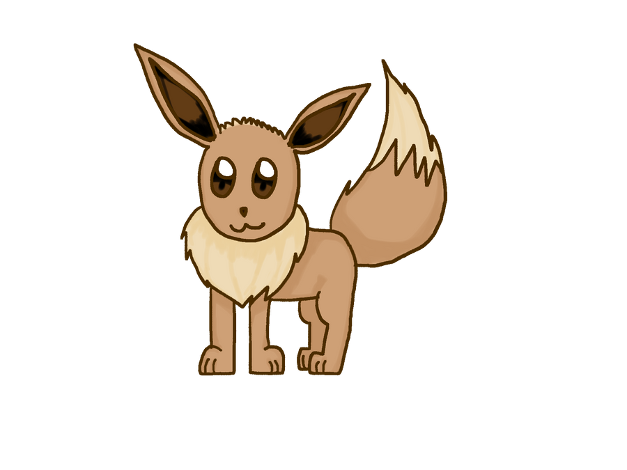 Hey you, click here ! Evee_by_lila79-d4t3wzo