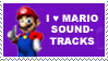 Mario Soundtracks Stamp by lila79