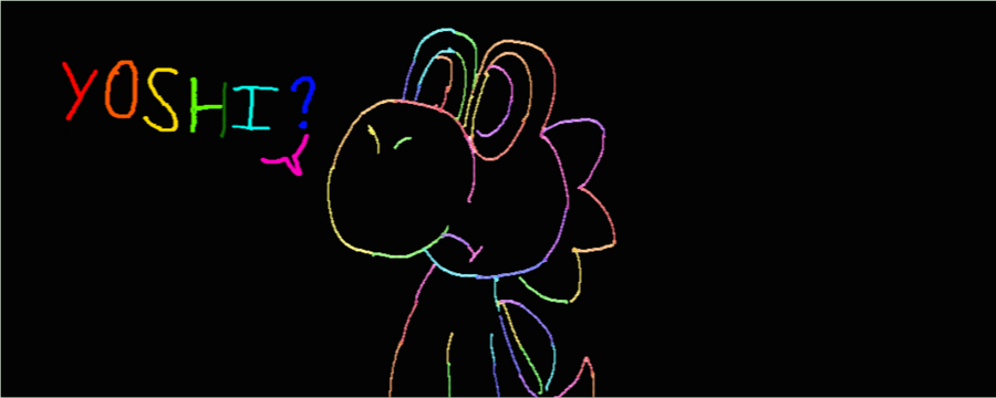 Hey you, click here ! Rainbow_yoshi_in_the_black_by_lila79-d4z7nkf