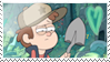 Dipper Pines stamp by lila79