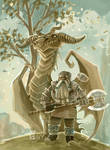 Dwarf dragon finished