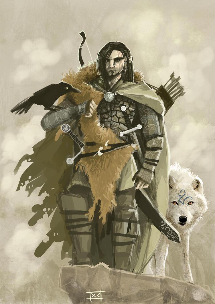 Half-elf ranger by xtianayuniElven Ranger Portrait