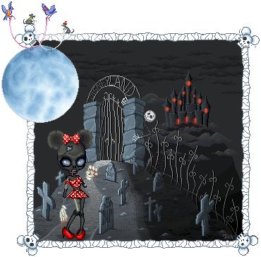 Minnie zombidesque by Tichju