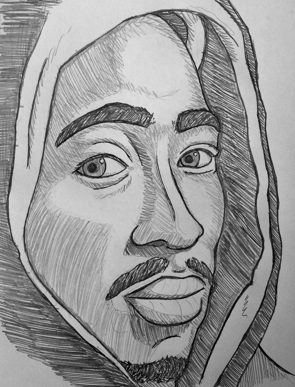 Tupac Shakur by Pietro051 on DeviantArt