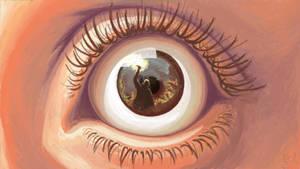 Eye witness by 0x4fffwhite