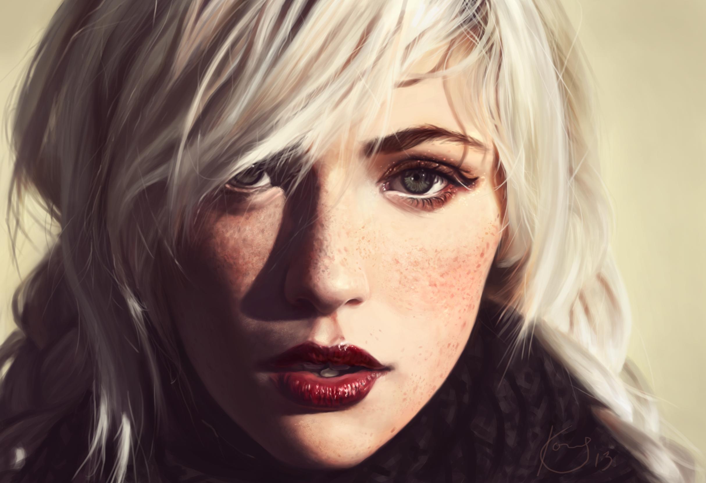 Portrait Practice 6 by 0x4fffwhite